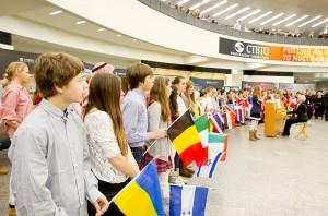 Global Citizen Flags